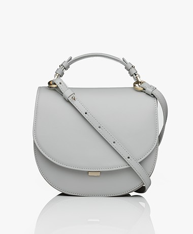 Filippa K Harley Saddle Leren Tas - Sterling Grey