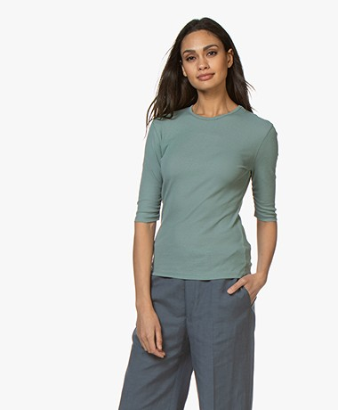 Filippa K Jacqueline T-shirt - Mint Powder