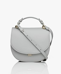 Filippa K Harley Saddle Leather Bag - Sterling Grey