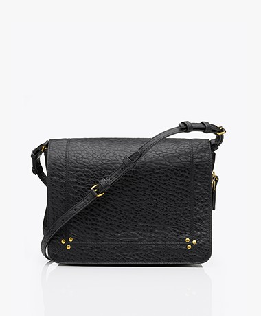 Jerome Dreyfuss Igor Lambskin Bubble Shoulder Bag - Black