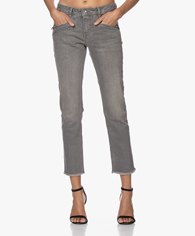Zadig & Voltaire Ava Eco Slim-fit Jeans - Grey