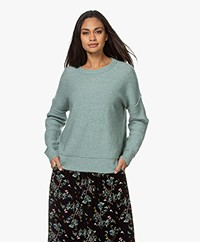 By Malene Birger Biagio Mohairmix Trui - Lily Pad