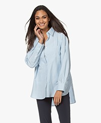 Filippa K Sammy Pure Cotton Shirt - Pale Blue