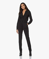 JapanTKY Jytze Travel Jersey Jumpsuit - Black