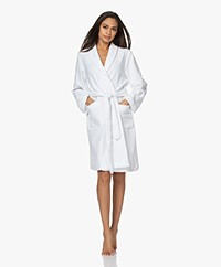 HANRO Robe Selection Fleece Pluche Badjas - Wit