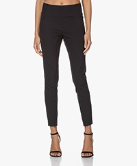 By Malene Birger Adanis Stretch Pantalon - Zwart