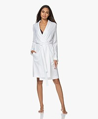 HANRO Robe Selection Cotton Jersey Robe - White