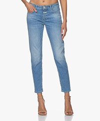 Closed Baker Mid-rise Slim-fit Jeans - Mid Blue