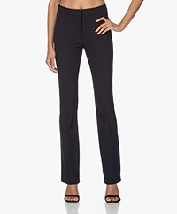 Rag & Bone Simone Flared Stretch Pants - Salute