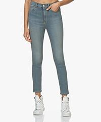 IRO Louv High-waist Skinny Jeans - Lichtblauw