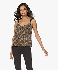 Rag & Bone Colette Zijden Printtop - Multi-color