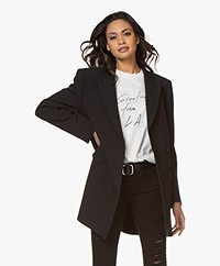 IRO Sensitive Long Belted Blazer - Black