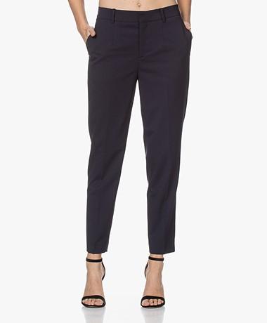 Drykorn Business Wolmix Pantalon - Donkerblauw