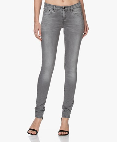 Denham Spray GFM+ Stretch Cotton Jeans - Grey