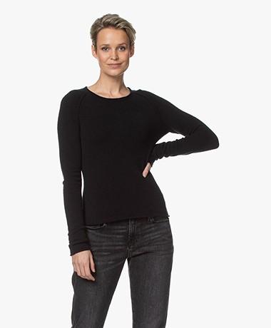 American Vintage Damsville Slim-fit Sweater - Black