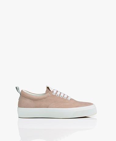 Closed Chilli Suede Low Sneakers - Rose Quartz
