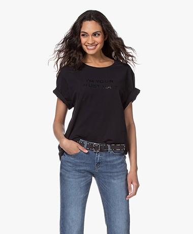 Majestic Filatures Cindy Bruna Musthave T-shirt - Black