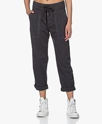 James Perse Pull On Clean Cargo Slub Pants - Black