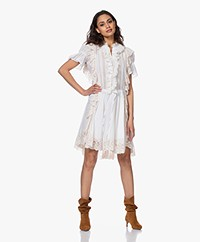 Zadig & Voltaire Rank Cotton Ruffle Dress - Sushi
