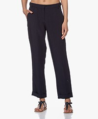 Josephine & Co Bibian Tencel Blend Pants - Navy