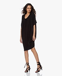 Sibin/Linnebjerg Nola Fine Knitted Dress - Black