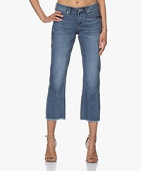 MKT Studio The Sophia Wilson Cropped Jeans - Blue Terence