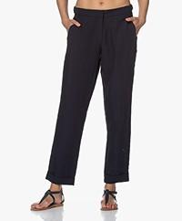 Josephine & Co Bibian Tencel Blend Pants - Navy