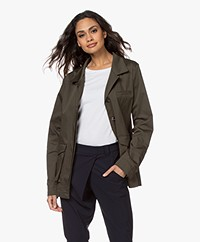 Woman by Earn Sally Utility Jack - Army