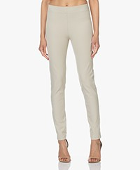 Joseph Gabardine Stretch Leggings - Mastic