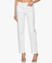 Denham Bardot Straight Fit Jeans - Wit