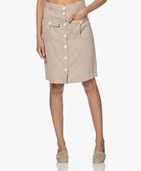 Josephine & Co Livia Tencel Blend Skirt - Sand