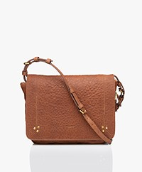 Jerome Dreyfuss Igor Lambskin Bubble Shoulder Bag - Camel