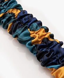 WOUF Barbados Satin Headband - Blue