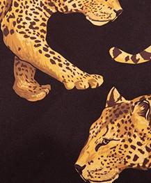 WOUF Black Leopard XL Shopper - Zwart
