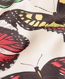 WOUF Papillons Satin Totebag - Ecru