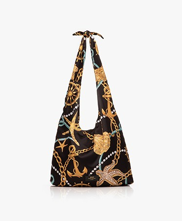 WOUF Sailor Satin Totebag - Black