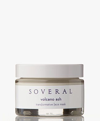 Soveral Volcano Ash Transformative Face Mask