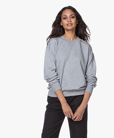 Filippa K Soft Sport Lyocell Mix Sweatshirt - Lichtgrijs