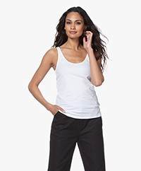 Filippa K Cotton Stretch Tanktop - Wit