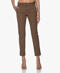 Joseph New Eliston Gabardine Stretch Pantalon - Kaki