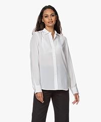 Filippa K Classic Silk Shirt - White