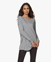 By Malene Birger Alloi Jersey Tunic - Grey Melange