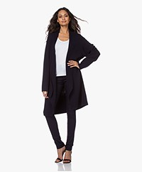 Woman by Earn Jil Modal Blend Open Cardigan - Navy