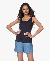 By Malene Birger Newdawn Tank Top - Night Sky