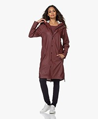 Maium 2-in-1 Rain Coat - Wine Red