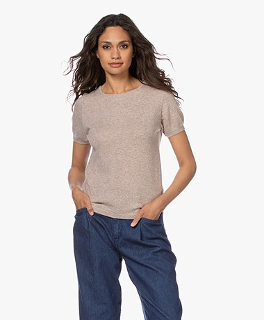 Resort Finest Lido Pullover with Round Neck - Taupe
