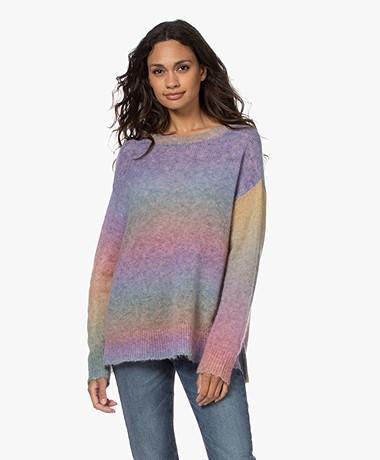 Zadig & Voltaire Sunday Alpaca Blend Sweater - Multicolor