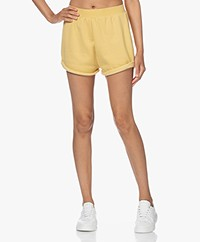 Ragdoll LA Cotton Blend Sweat Shorts - Faded Yellow