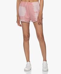 Ragdoll LA Tie-dye Sweat Shorts - Quartz Pink