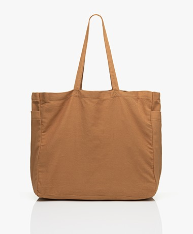 Monk & Anna Kyodaina Canvas Shopper - Khaki